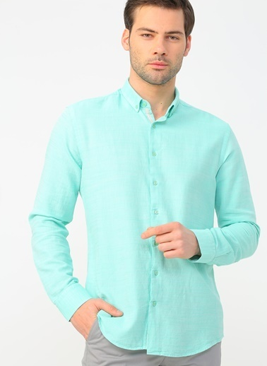 Fabrika Gömlek Yeşil